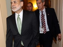 Fed Chair Ben Bernanke Brief GOP Lawmakers On Euro Zone Financial Crisis