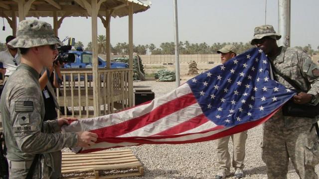 Abzug Irak