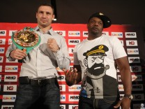 Vitali Klitschko v Dereck Chisora - Press Conference