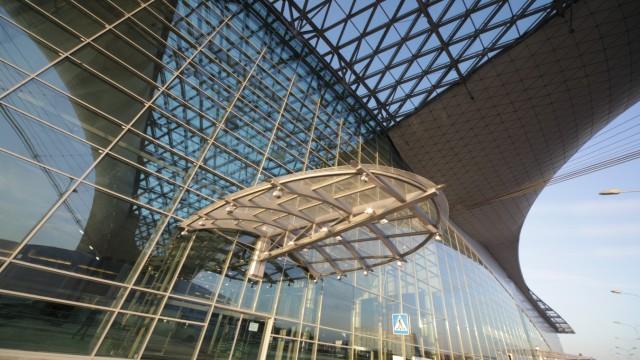 Moskauer Flughafen Scheremetjewo - Neues Terminal D