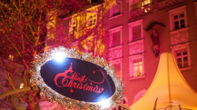 Pink Christmas Weihnachtsmarkt am Stephansplatz