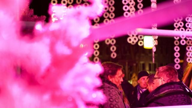 Pinker Weihnachtsmarkt.Pink Christmas Am Stephansplatz Ableger In Hamburg Und