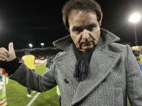 A file picture shows FC Sion's President Constantin after their Super League soccer match against FC Thun in Sion