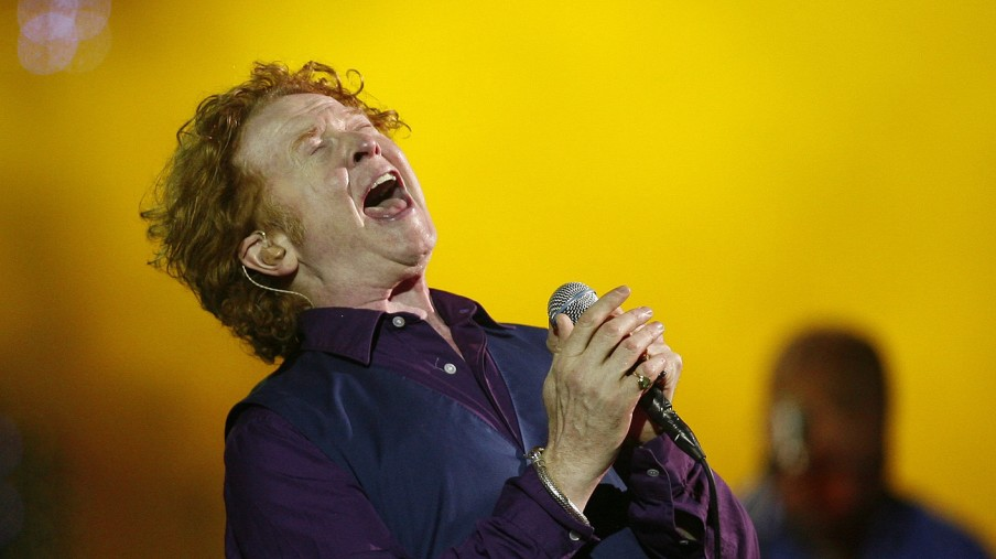 Hucknall, lead singer of Simply Red, performs during 50th International Song Festival in Vina Del Mar city