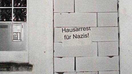 Gegen Rechts Protestaktion in Oldenburg