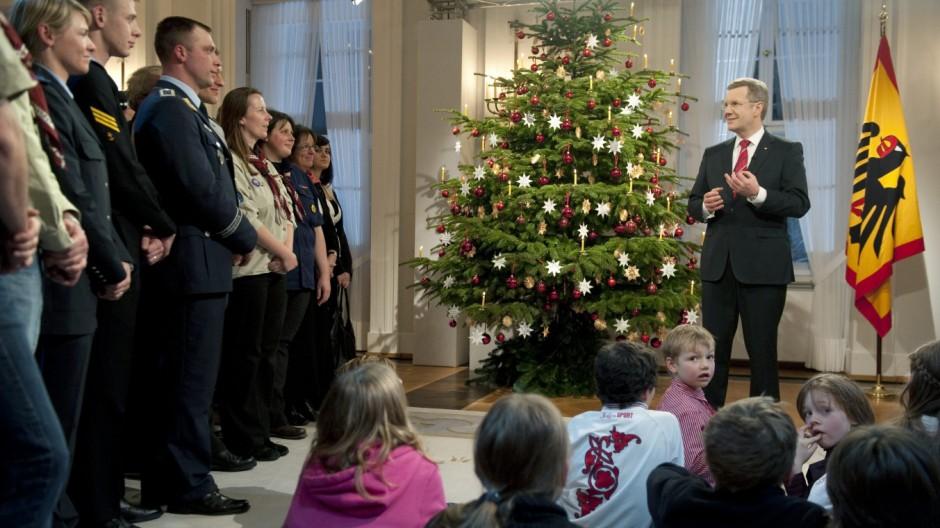 Weihnachtsansprache des Bundespräsidenten