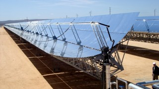 Kampf gegen Klimawandel in den USA -  Solarkraftwerk in Kalifornien