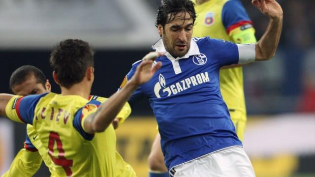 FC Schalke 04 Raul Gazprom FC Bayern