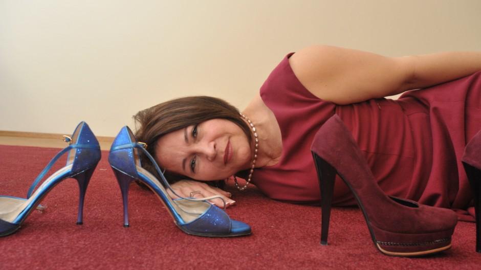 High Heels Sicher auf hohen Schuhen