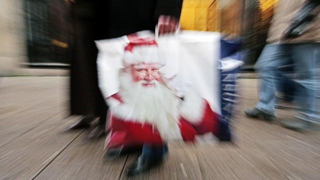 Weihnachtseinkauf in Hamburg
