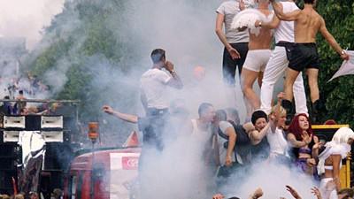 Homo-Paraden in deutschen Städten