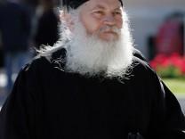 Mount Athos Vatopedi Monastery Abbot Ephraim arrested