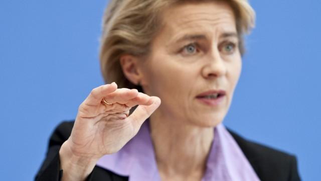Ursula von der Leyen zum Arbeitsmarkt