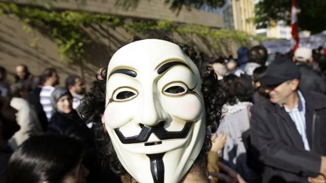 Hackergruppe Anonymous Hacker-Kollektiv