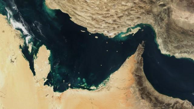 Nadelöhr für Öltransporte: der Persische Golf, die Straße von Hormus Iran