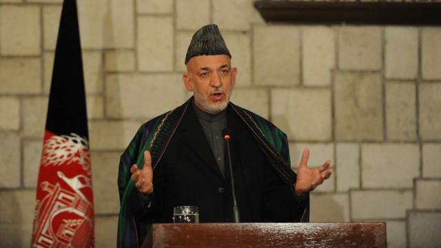 Afghanistan Kriegsparteien in Afghanistan