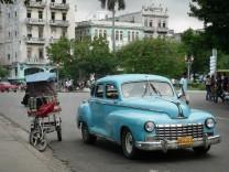 Kuba Havanna Oldtimer Taxi