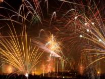 Feuerwerk, Silvester, München