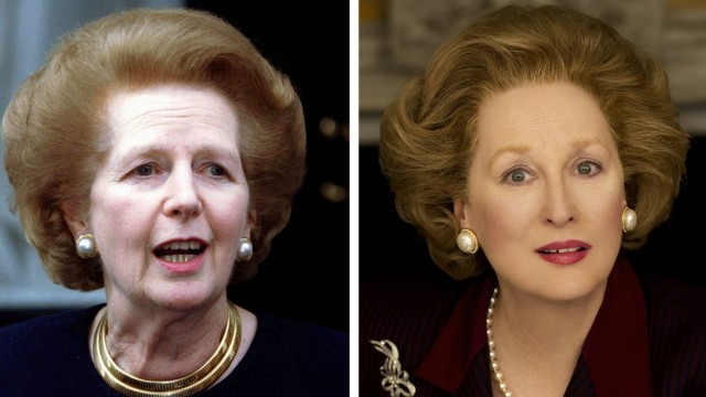 Margaret Thatcher, Meryl Streep, The Iron Lady im Kino
