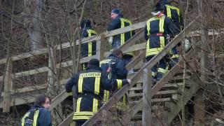 Rügen - Suche nach verschüttetem Mädchen