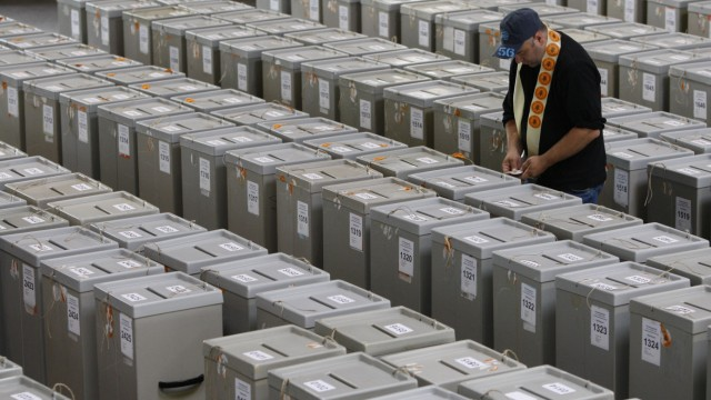 Wahlrechtsreform Komplizierte Reform