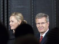 Aufzeichnung der ZDF-Sendung 'Alle Jahre wieder - Weihnachten mit dem Bundespraesidenten'