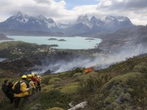 Around 12,500 hectares have been burnt by a wildfire hitting the world renowned national park,
