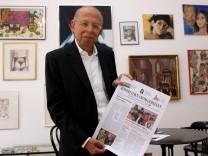 Eine neue Zeitung stellt das juedische Leben in Deutschland dar