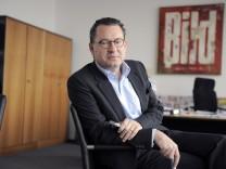 Bundespraesident schweigt zu angeblichem Drohanruf bei 'Bild'-Zeitung
