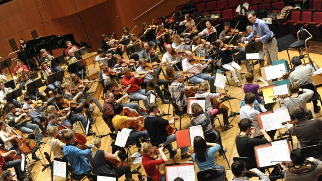 Jugendsinfonieorchester in der Philharmonie in München, 2010