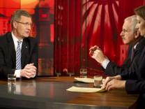 Reaktionen auf das TV-Interview mit Bundespraesident Wulff