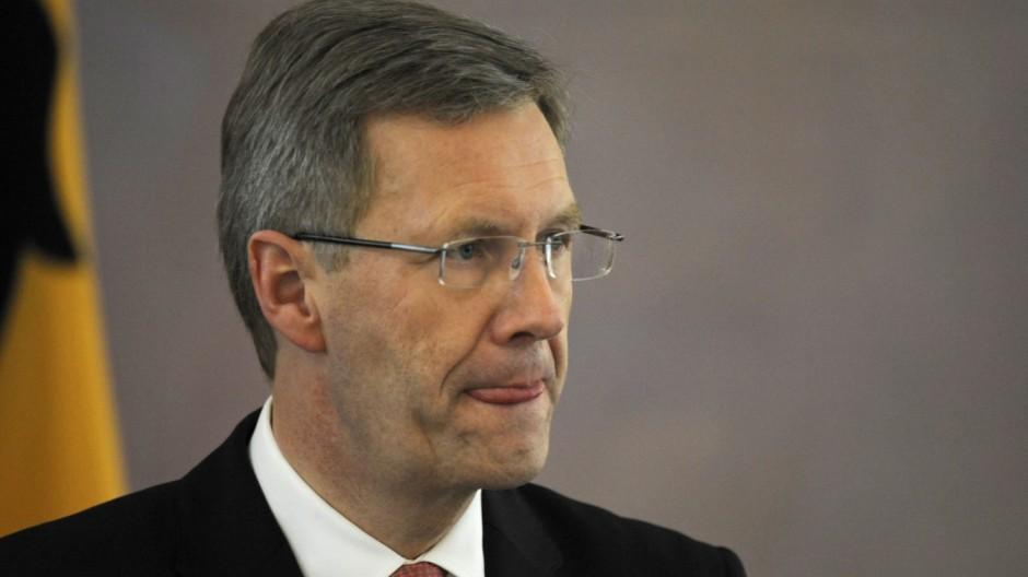 Bundespraesident empfaengt Sternsinger