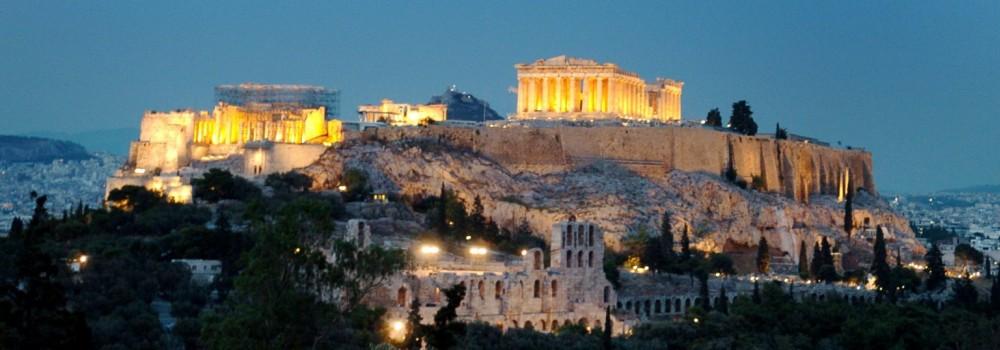 Akropolis in Athen, 2004
