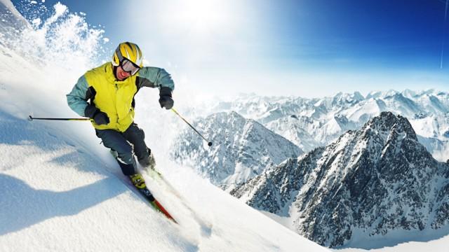 Ski Skifahren in Colorado