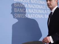File photo of Swiss National Bank Chairman Hildebrand