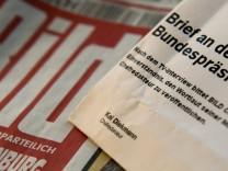 'Bild' bittet Bundespraesident um Genehmigung zur Veroeffentlichung seiner Mailbox-Mitteilung