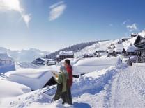 Mit der U-Bahn auf die Piste - Autofreie Skidörfer in den Alpen
