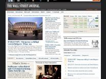 Wall Street Journal Website
