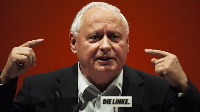 Lafontaine will sich staerker auf Bundesebene einbringen