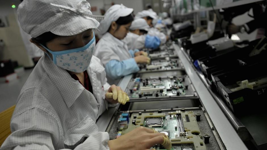Foxconn Apple- und Microsoft-Zulieferer