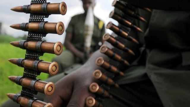 Soldaten im Kongo