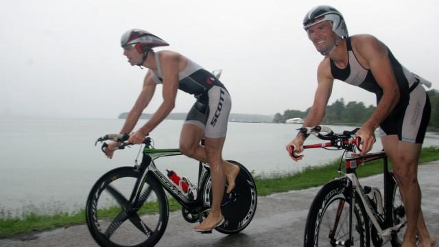 Tutzinger Triathlon bei Regenwetter