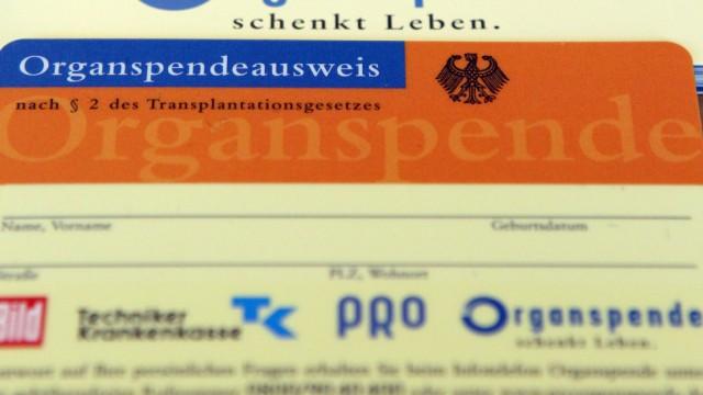 Organspender-Ausweis