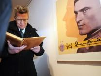 Verteidigungsminister besucht Kaserne in Sigmaringen