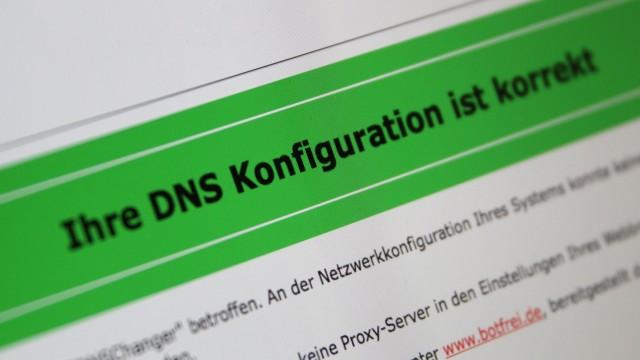 Test auf Trojaner 'DNSChanger'