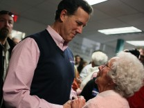 Santorum Campaigns In South Carolina Ahead Of Primary
