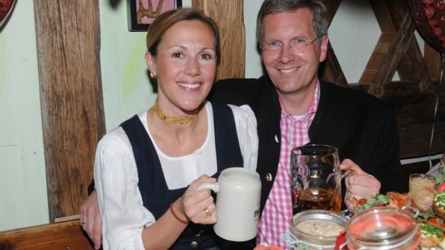 Christian und Bettina Wulff beim Oktoberfest
