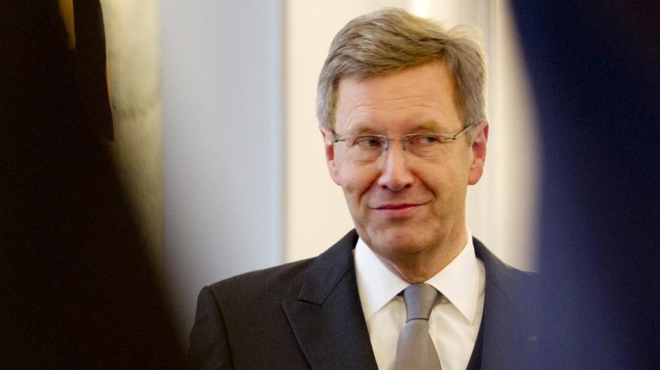 Bundespraesident Wulff empfaengt neue Botschafter