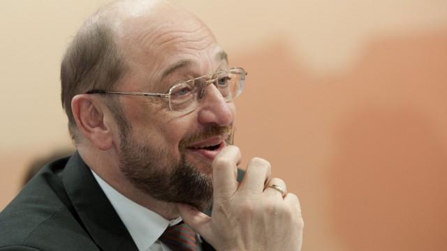 Wahl von Martin Schulz zum neuen EU-Parlamentspraesidenten