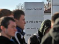 Entscheidung bei Manroland erwartet